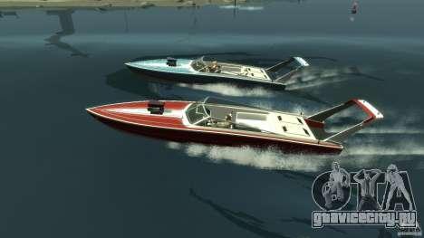 Tuned Jetmax для GTA 4 вид слева