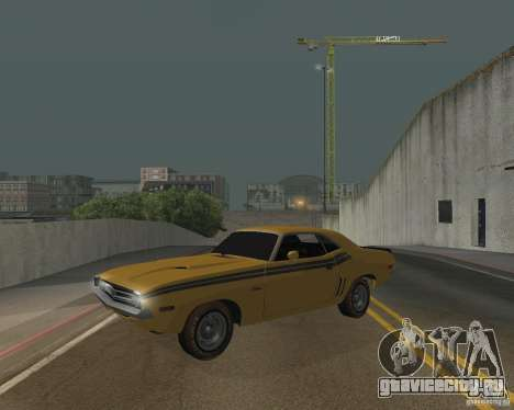 Dodge Chellenger V2.0 для GTA San Andreas