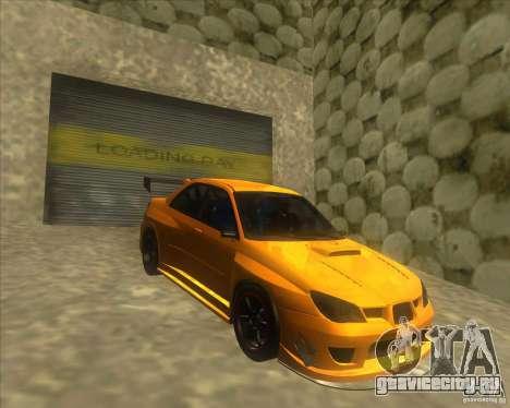 Subaru Impreza STi tuned для GTA San Andreas