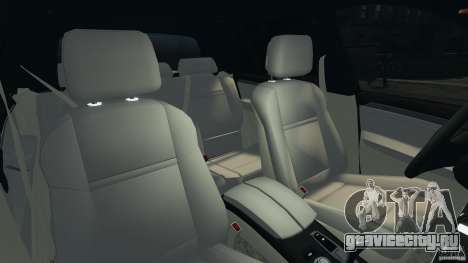 BMW X5 xDrive48i Security Plus для GTA 4 вид изнутри