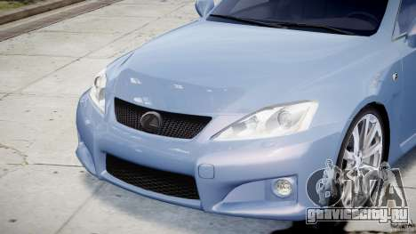 Lexus IS F для GTA 4 салон