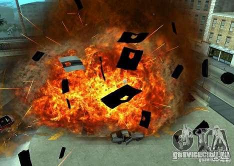 Новые эфекты взрывов для GTA San Andreas третий скриншот
