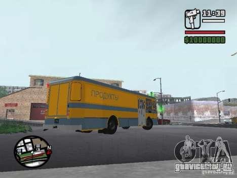 ЛиАЗ 677м грузовой для GTA San Andreas вид слева