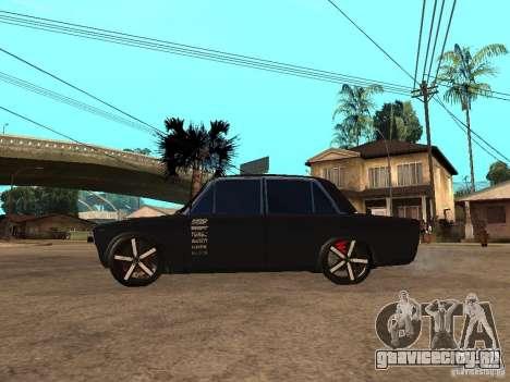 ВАЗ 2103 Tuning By Narik для GTA San Andreas вид слева