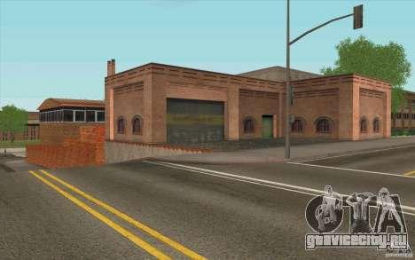 Пожарная часть для GTA San Andreas четвёртый скриншот
