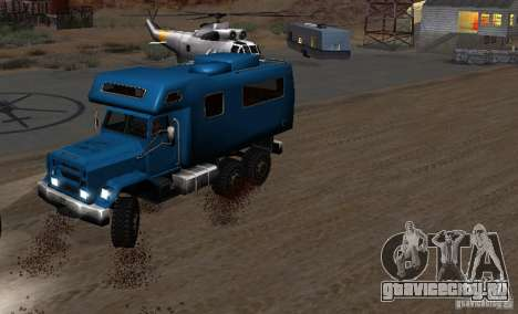 Journey 6x6 Enterable V1 для GTA San Andreas вид справа