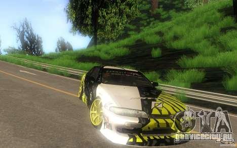 Nissan Silvia S14 zenki matt powers для GTA San Andreas вид сзади