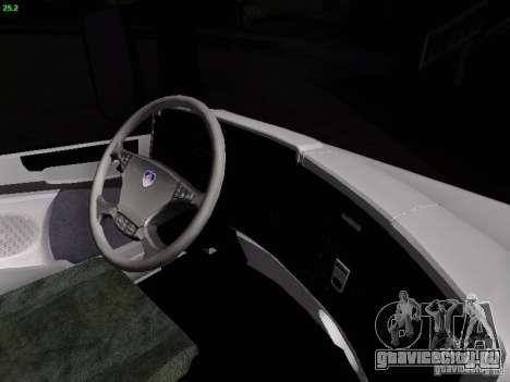 Scania R580 V8 Topline для GTA San Andreas вид сверху