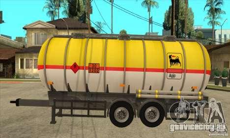 Trailer Tunk для GTA San Andreas вид слева
