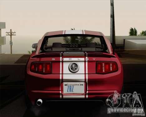 Ford Shelby GT500 Super Snake 2011 для GTA San Andreas вид справа