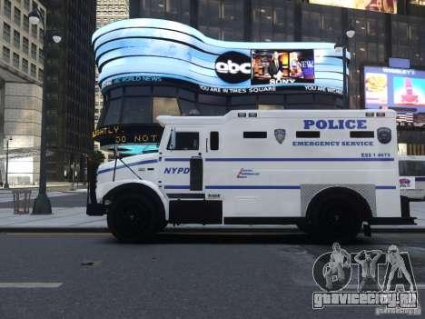 Enforcer Emergency Service NYPD для GTA 4 вид сзади