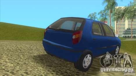 Fiat Palio для GTA Vice City вид сзади слева