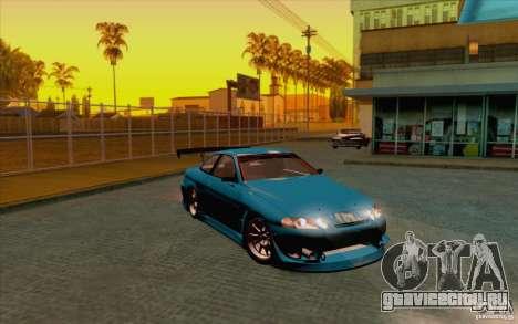 Toyota Soarer (JZZ30) для GTA San Andreas вид сзади слева