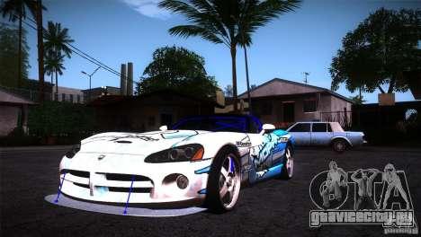 Dodge Viper Mopar Drift для GTA San Andreas