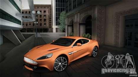 Aston Martin Vanquish V12 для GTA San Andreas
