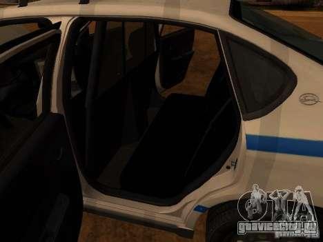 Chevrolet Impala Police 2003 для GTA San Andreas вид сбоку