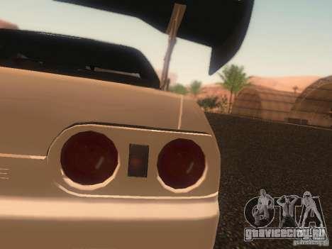 Nissan Skyline GTS R32 JDM для GTA San Andreas вид сверху