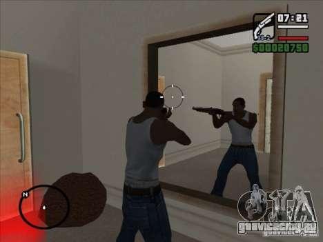 Новая анимация стрельбы из обреза для GTA San Andreas