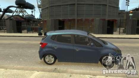 Hyundai IX20 2011 для GTA 4 вид справа