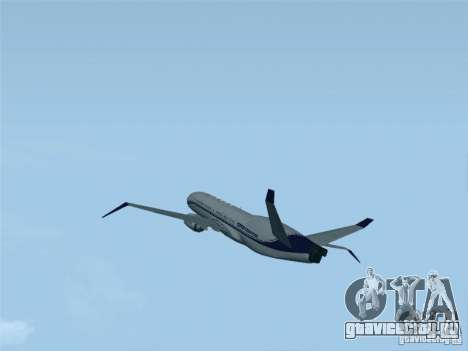 Boeing 737 Iron Man Bussines Jet для GTA San Andreas вид слева