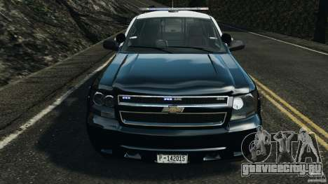 Chevrolet Tahoe Marked Unit [ELS] для GTA 4 вид сбоку