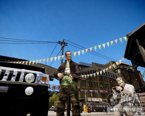 CoD Black Ops Hudson для GTA 4 второй скриншот