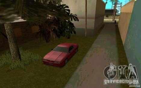 Спортивные машины возле Грув Стрит для GTA San Andreas четвёртый скриншот