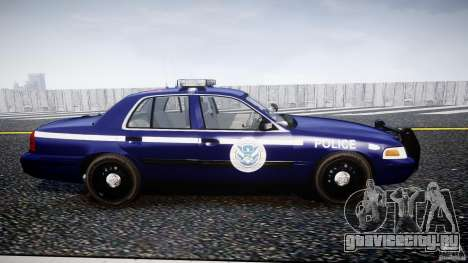 Ford Crown Victoria Homeland Security [ELS] для GTA 4 вид изнутри