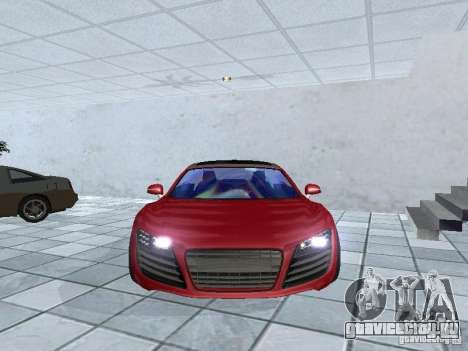 Audi Le Mans Quattro для GTA San Andreas вид сзади