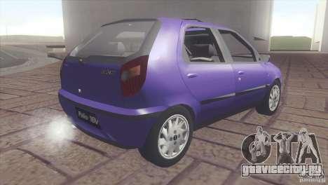 Fiat Palio 16v для GTA San Andreas вид слева