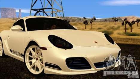 Porsche Cayman R 987 2011 V1.0 для GTA San Andreas вид слева