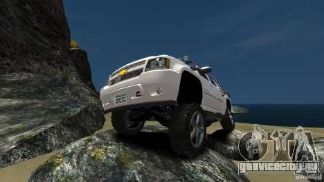 Chevrolet Avalanche 4x4 Truck для GTA 4 вид сзади слева