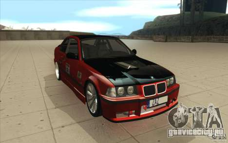 BMW Fan Drift Bolidas для GTA San Andreas вид сзади
