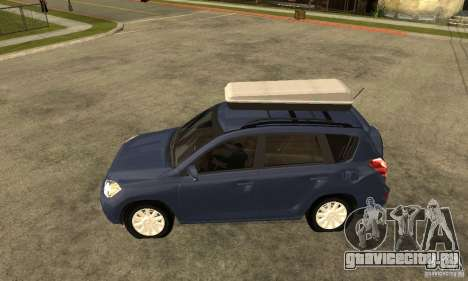 Toyota RAV4 V2 для GTA San Andreas вид слева