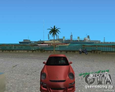Porsche 911 GT3 для GTA Vice City вид справа