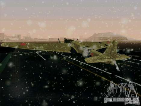 ТБ-3 для GTA San Andreas вид изнутри
