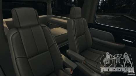 Chevrolet Suburban GMT900 2008 v1.0 для GTA 4 вид сверху