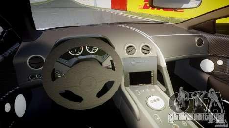 Lamborghini Murcielago LP670-4 SuperVeloce для GTA 4 вид сзади