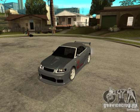 AUDI A4 Cabriolet для GTA San Andreas вид слева