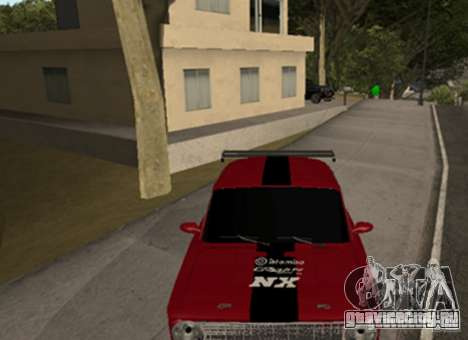 ВАЗ 2101 Drag для GTA San Andreas вид слева