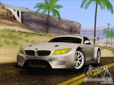 BMW Z4 E89 GT3 2010 Final для GTA San Andreas вид справа