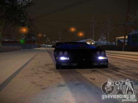 Lamborghini Countach LP5000 для GTA San Andreas вид сбоку