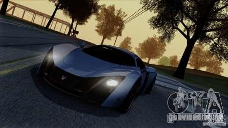 SA Beautiful Realistic Graphics 1.4 для GTA San Andreas седьмой скриншот
