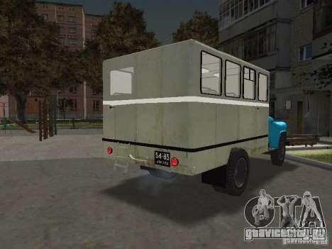 ГАЗ 52 Вахта для GTA San Andreas вид сзади слева