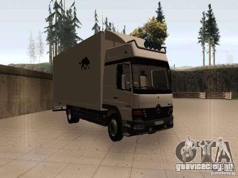 Mercedes-Benz Atego для GTA San Andreas вид слева