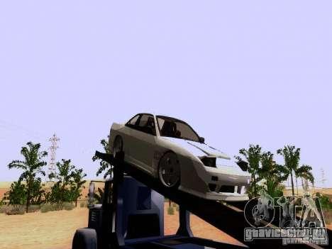 Nissan 240SX (S13) для GTA San Andreas вид сзади слева