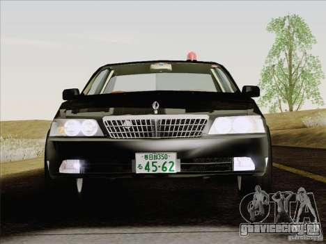 Nissan Laurel GC35 Kouki Unmarked Police Car для GTA San Andreas вид изнутри