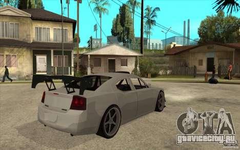 Dodge Charger 2009 для GTA San Andreas вид справа