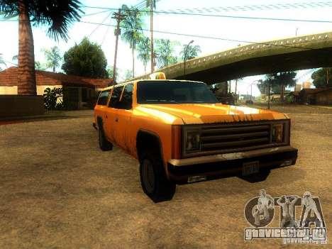 Taxi Rancher для GTA San Andreas