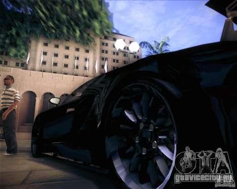 Bugatti Veyron Super Sport для GTA San Andreas вид сбоку